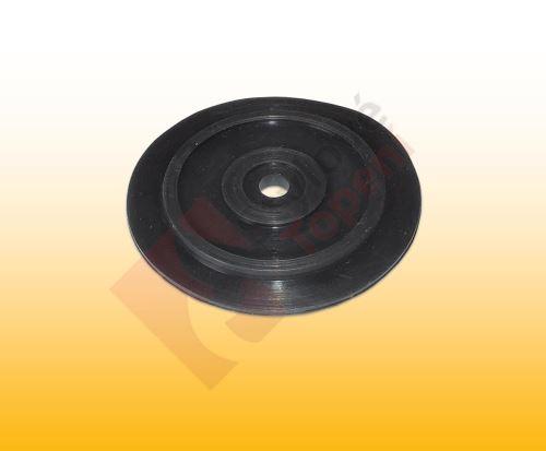 """Tvarové těsnění zátky-sítka dřezové výpusti 3.5"""" 55 x 6 mm - k výpustím dřezů AQUALINE - V/4509"""