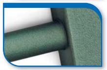Korado koralux rondo classic KRC 1820x450 Alloy Green