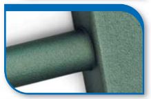 Korado koralux rondo comfort KRTE 900x450 Alloy Green