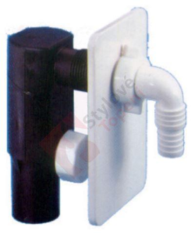 sifon pračkový podomítkový bílý 40/50mm