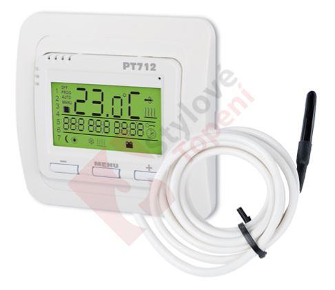 termostat podlahový PT712-EI ELBOCK týdenní,digi,do krabičky