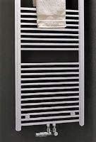 Kermi B20-SM 1200X450 rovné bílá středové připojení