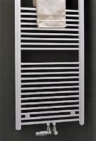 Kermi B20-SM 800X750 rovné bílá středové připojení