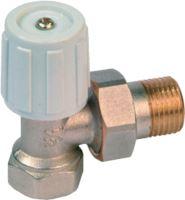 Radiátorový ventil rohový 1/2 - ruční