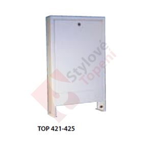 Skříň na stěnu - 550 x 700 x 110 mm TOPTHERM TOP 422