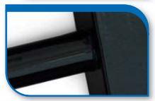 Korado koralux rondo comfort KRTE 900x450 Black RAL 9005