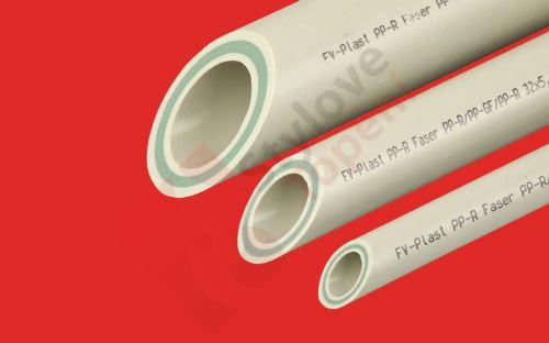PPR trubka 50×8,3 FASER se skelnými vlákny