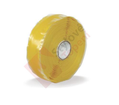 Ochranná žlutá páska 33m na spoje plynu