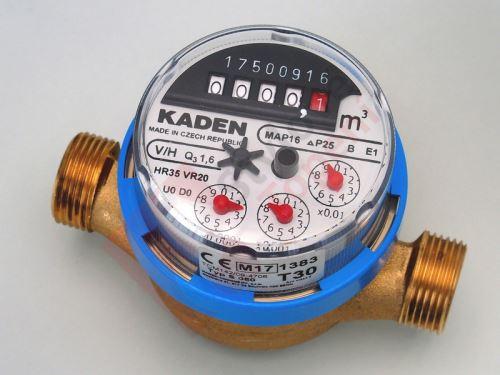 Vodoměr KADEN 1/2  S 050 studená voda