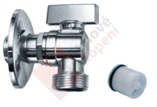 """Rohový pračkový ventil se ZK 1/2""""x3/4"""""""