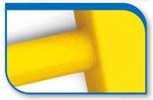 Korado koralux rondo comfort KRTE 900x450 Yellow RAL 1018