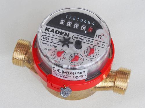 Vodoměr KADEN 1/2  S 055 teplá voda