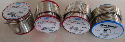 CU Cín pájka 4933 - 2 mm 250g