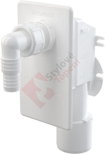Sifon pračkový podomítkový bílý APS4 Alca plast