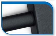 Korado koralux rondo comfort KRTE 900x450 Alloy Black