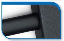 Korado koralux rondo comfort KRTM 900x750 Alloy Black