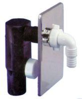 sifon pračkový podomítkový chrom 40/50mm