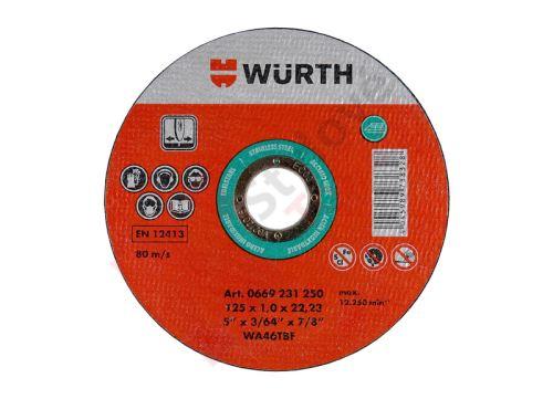 Řezný kotouč 115x1,0 - Würth