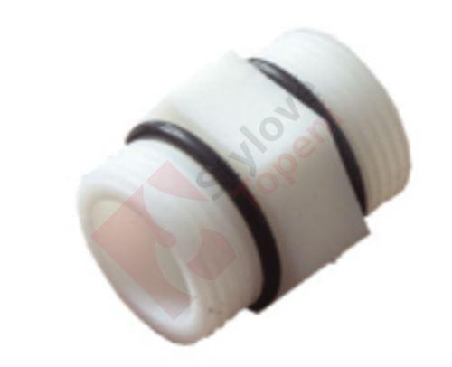 """Vsuvka pro spojení filtrů (nylon) 3/4""""  FL257 3/4"""""""