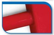 Korado koralux rondo classic KRC 1820x450 Red RAL 3001