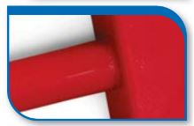 Korado koralux rondo comfort KRTE 900x450 Red RAL 3001