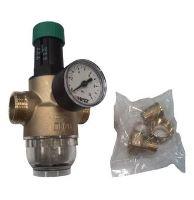 HERZ Regulátor tlaku vody s filtrem, 1 - 6 bar, 1