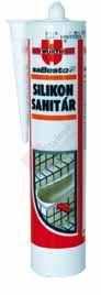 Silikon sanitární bílý - Würth