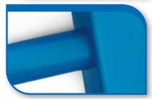 Korado koralux rondo comfort KRTE 900x450 Blue RAL 5015