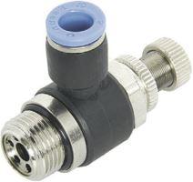 Škrticí ventil rohový výstupní ESL B M5x6
