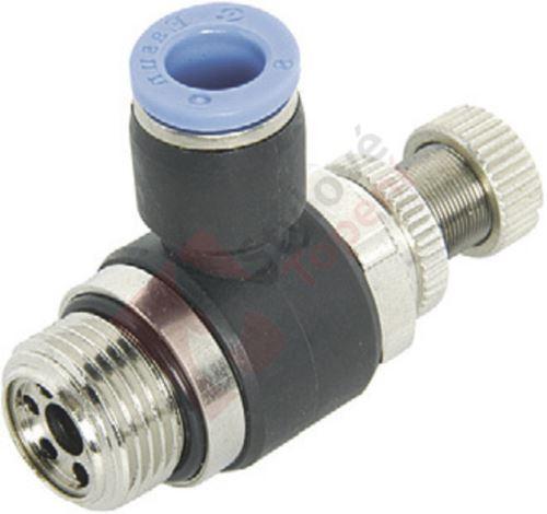 """Škrticí ventil rohový výstupní ESL B 1/8""""x10"""