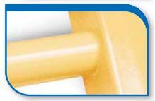 Korado koralux rondo classic KRC 1820x450 Vanilla