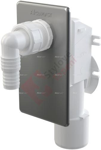 Sifon pračkový podomítkový nerez APS3 Alca plast